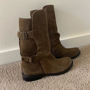 Matisse mid-calf boots in brown